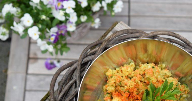 Thermomix Rezept -sommerlicher Gurkensalat