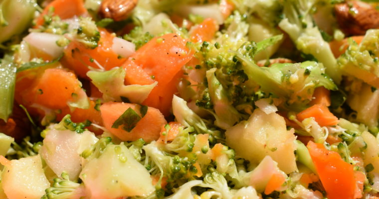 gepimpter Brokkolisalat – Thermomix Rezept