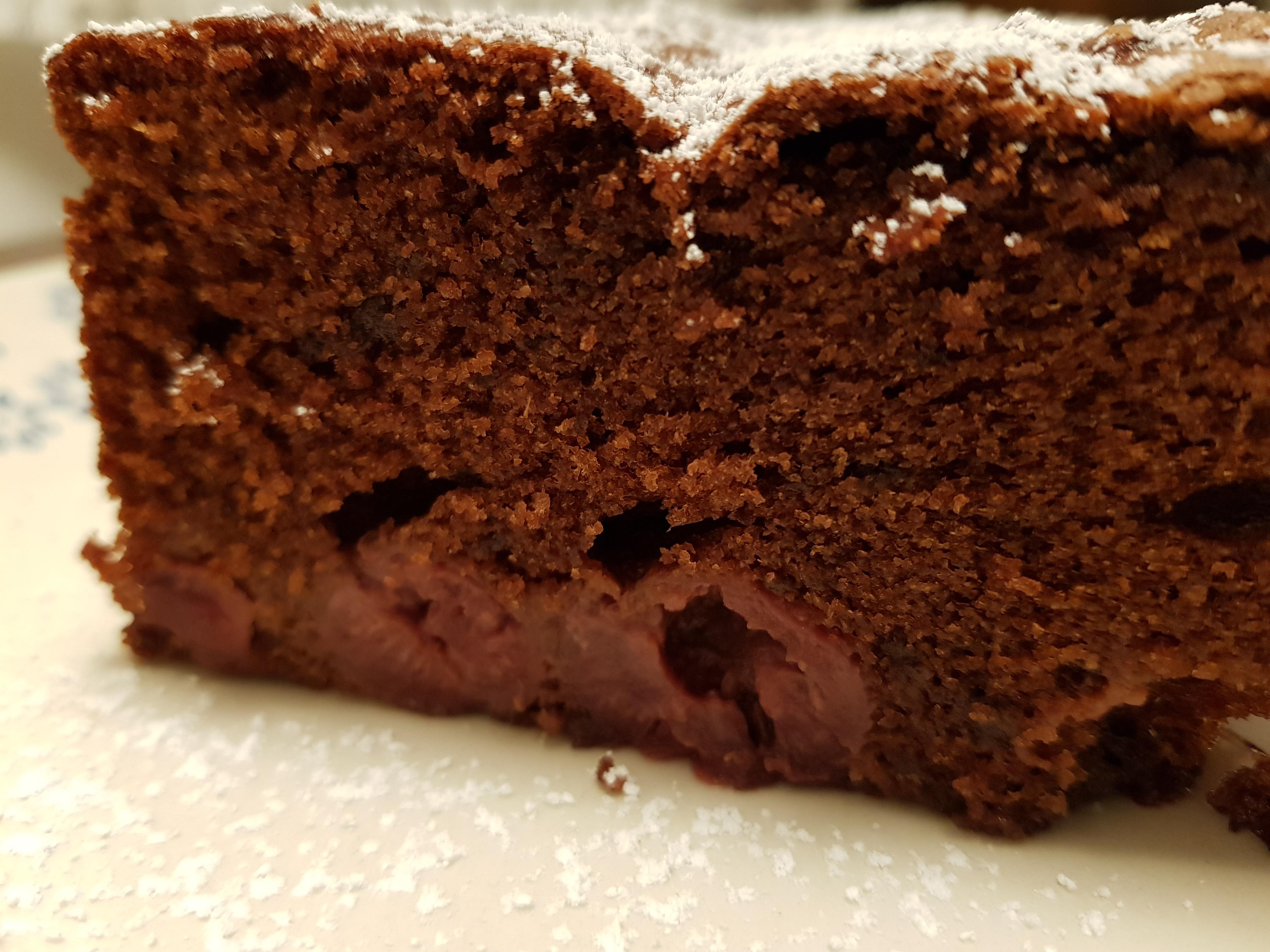 Schokoladen -Kirschkuchen (orientalisch) – Thermomix Rezept