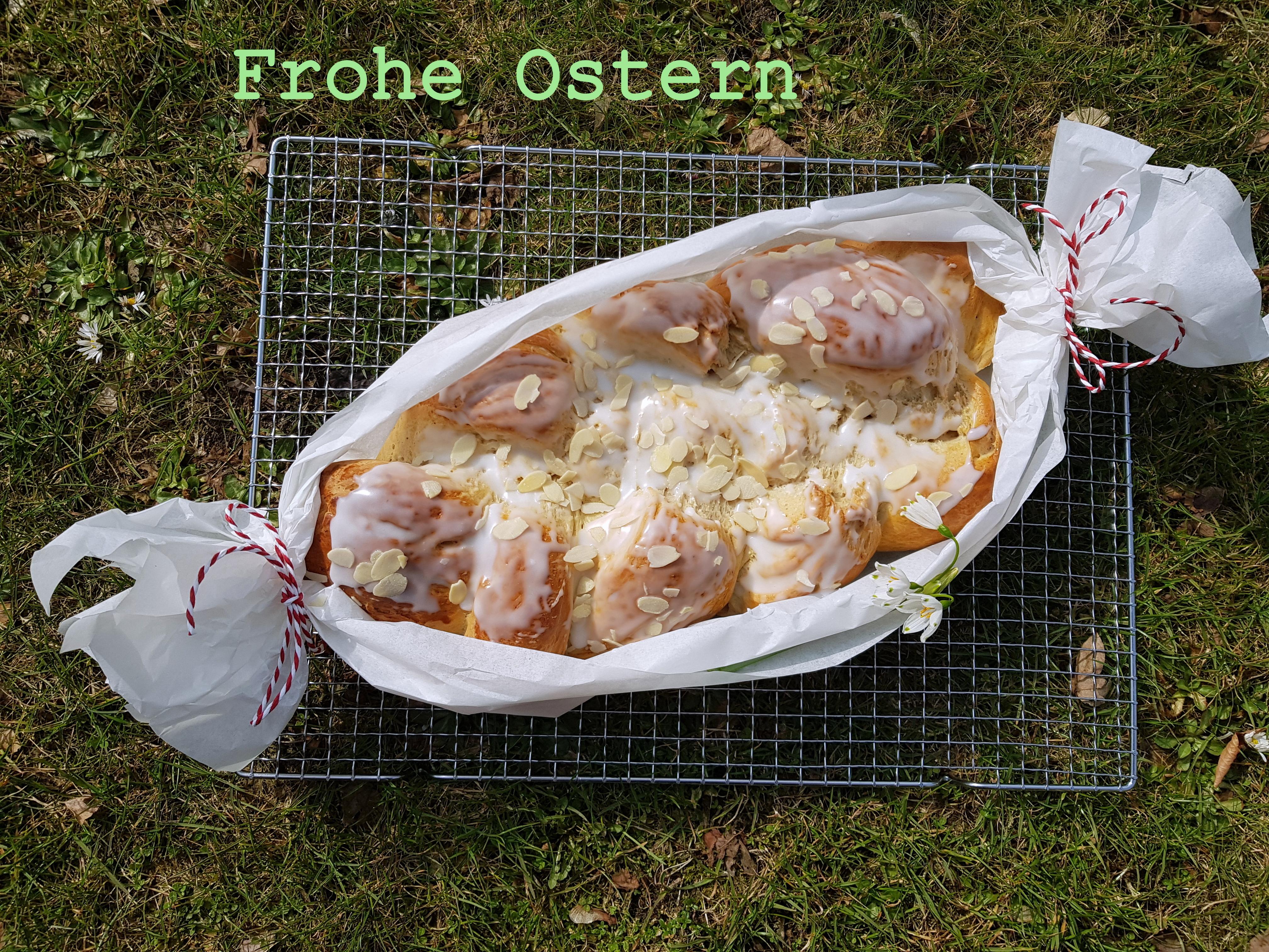 Osterzopf / Hefezopf mit Vanille und Tonkabohne – Thermomixrezept