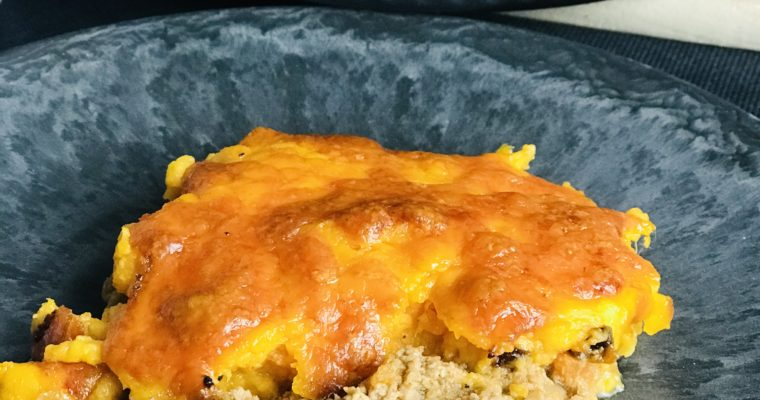 Sheperd's Pie mit Süsskartoffelpürree Thermomix Rezept